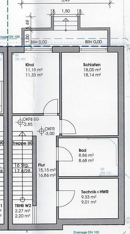 wohnung kaufen 3 zimmer 124.93 m² perl foto 3