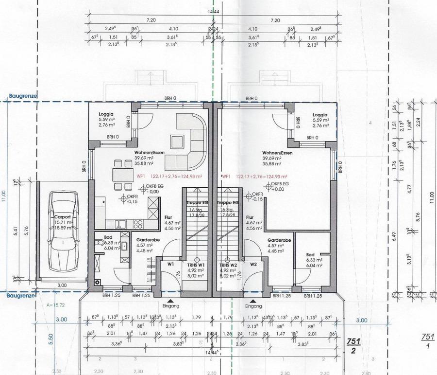 wohnung kaufen 3 zimmer 124.93 m² perl foto 4