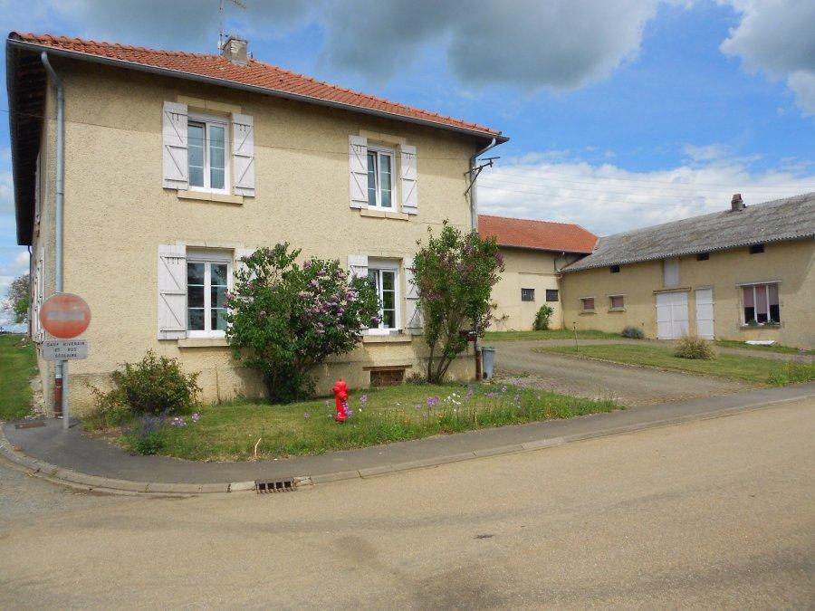 Ferme à vendre F5 à Gondrecourt-Aix