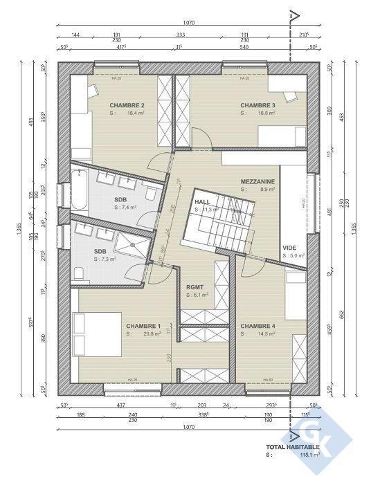 acheter maison 4 chambres 225 m² michelbouch photo 5