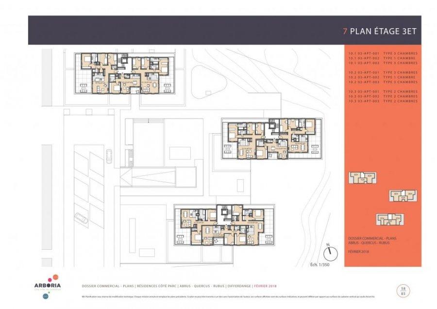 acheter appartement 3 chambres 119.61 m² differdange photo 4