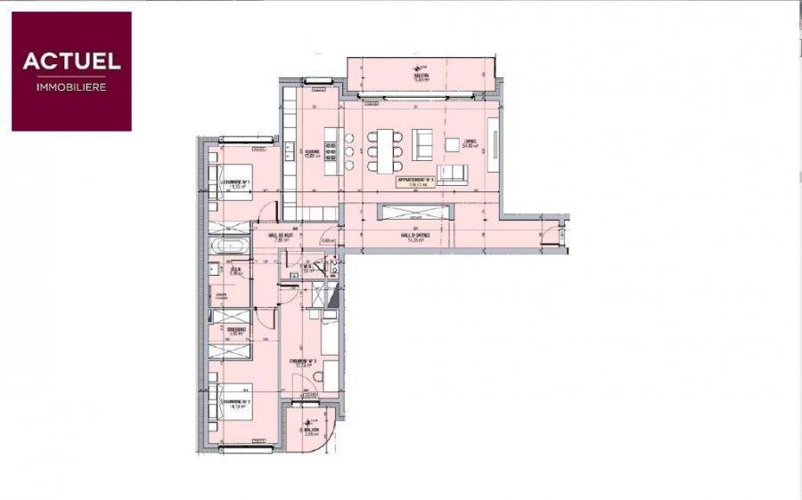 apartment for buy 3 bedrooms 128.12 m² alzingen photo 3