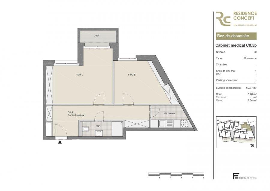 büro kaufen 0 schlafzimmer 60.77 m² luxembourg foto 2