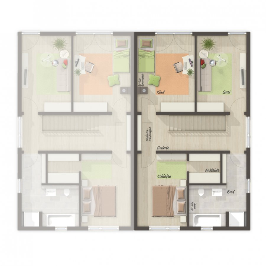 doppelhaushälfte kaufen 4 zimmer 137 m² merzig foto 7