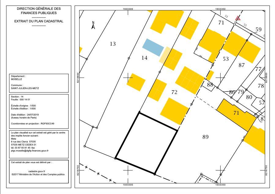 acheter terrain constructible 0 pièce 0 m² saint-julien-lès-metz photo 1