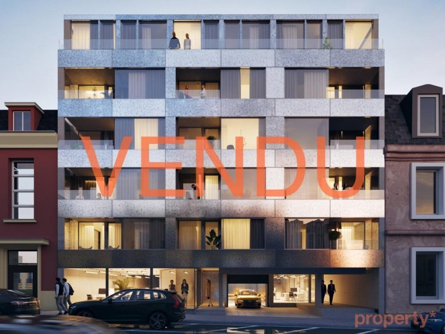 penthouse-wohnung kaufen 1 schlafzimmer 40 m² luxembourg foto 1