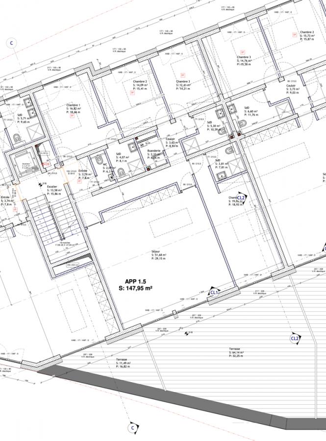 acheter appartement 4 chambres 155.47 m² mondorf-les-bains photo 2