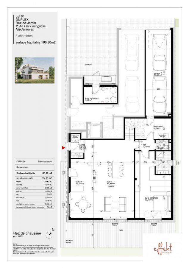 acheter appartement 3 chambres 166.3 m² niederanven photo 7