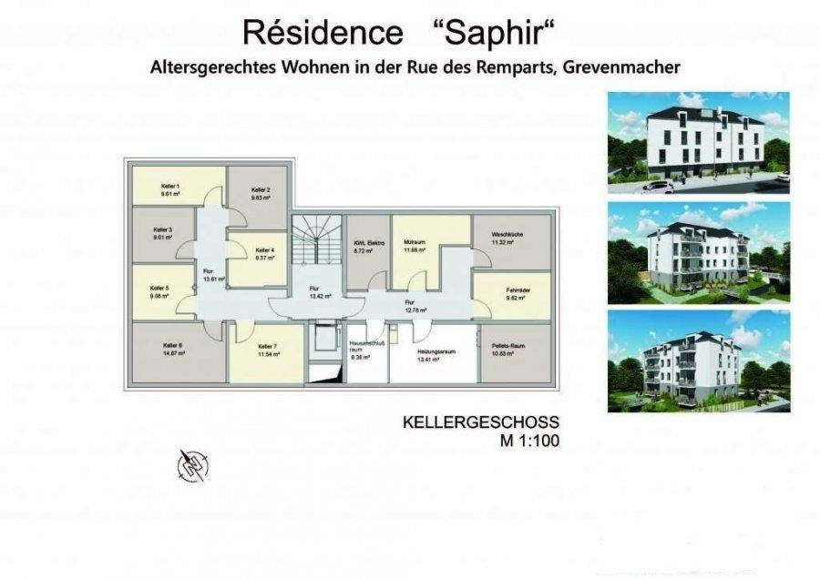 acheter appartement 2 chambres 88.12 m² grevenmacher photo 3
