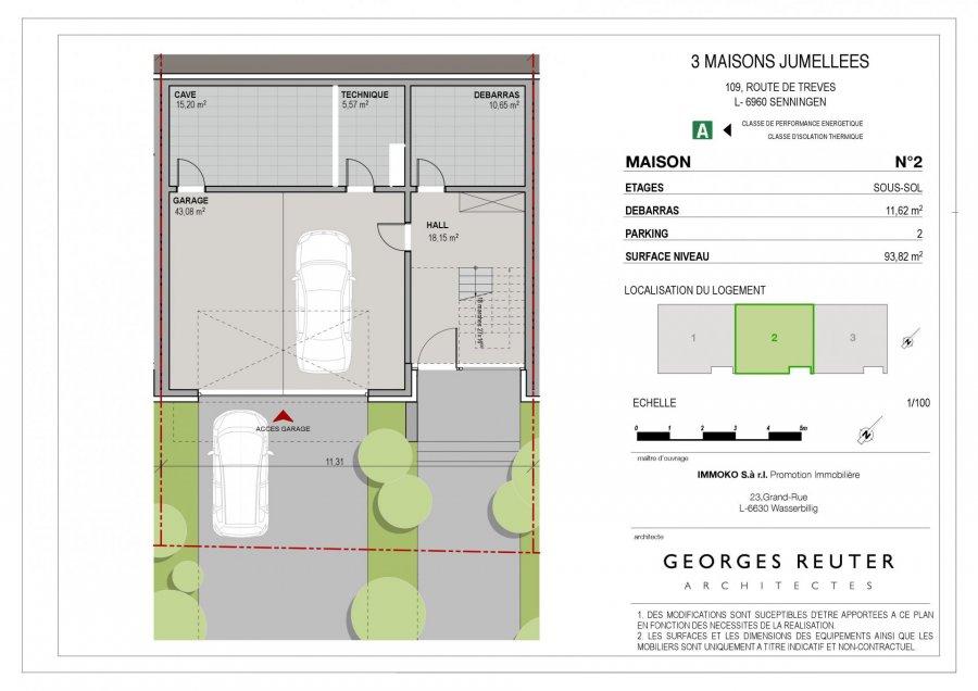 house for buy 4 bedrooms 192 m² senningen photo 3