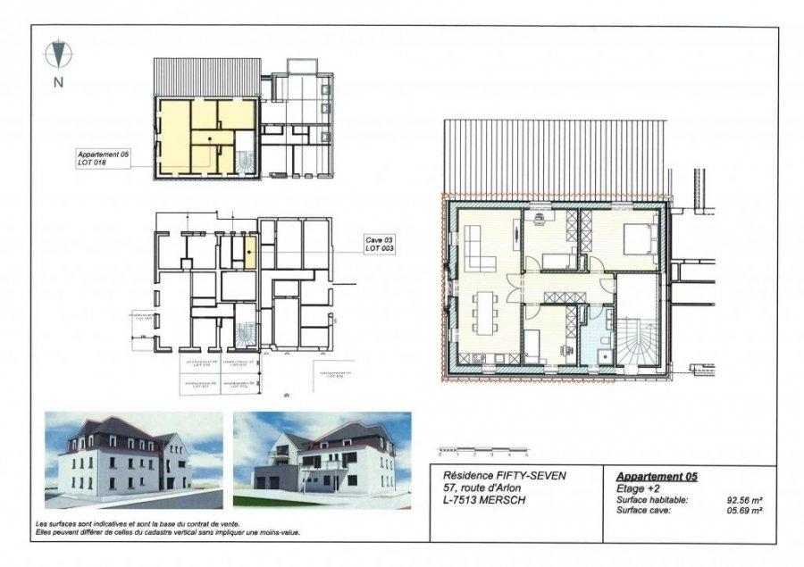 acheter appartement 3 chambres 92.56 m² mersch photo 4