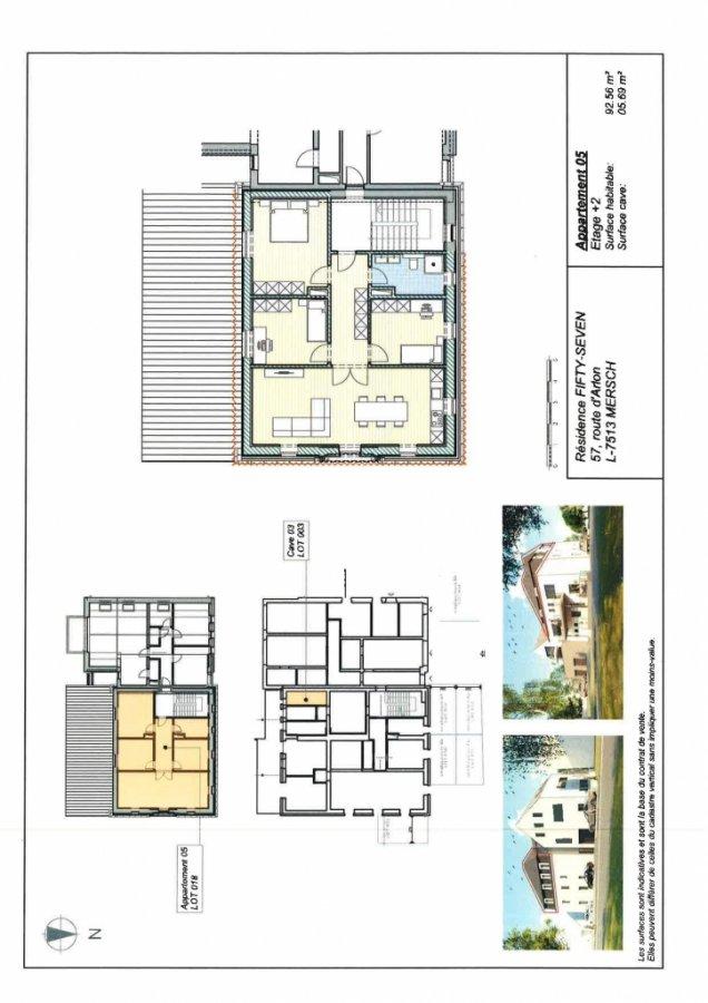 acheter appartement 3 chambres 92.56 m² mersch photo 3