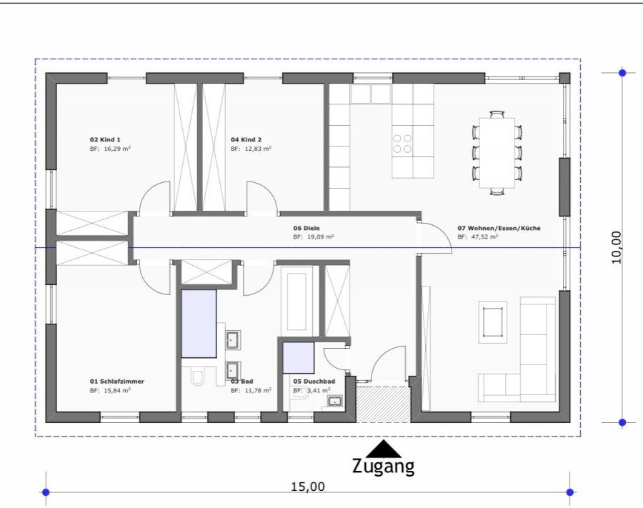 bungalow kaufen 4 zimmer 130 m² wincheringen foto 2