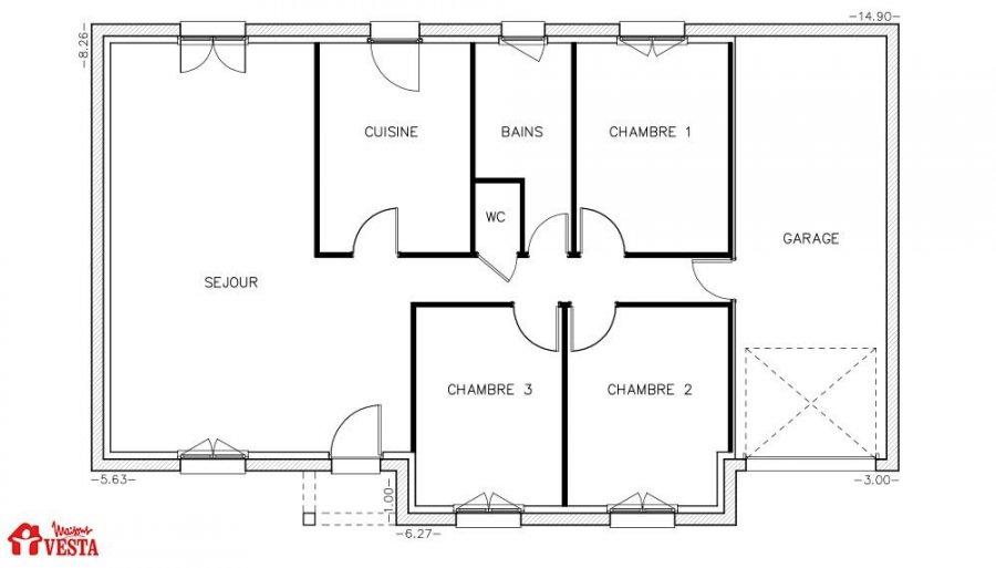 haus kaufen 4 zimmer 90 m² thiaucourt-regniéville foto 3