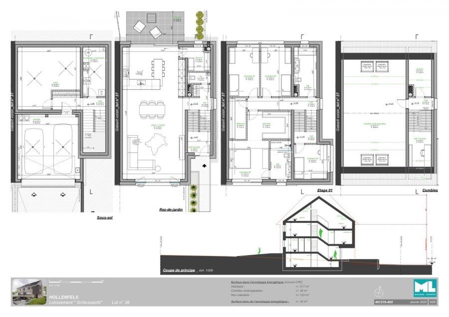 acheter maison 4 chambres 217 m² hollenfels photo 4