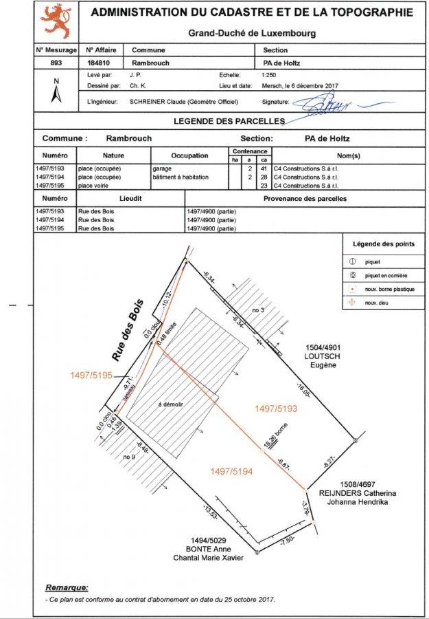 Terrain constructible à vendre à Holtz