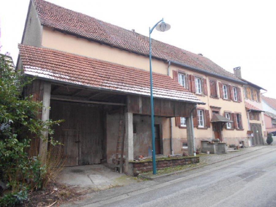 acheter maison 7 pièces 130 m² wingen-sur-moder photo 1