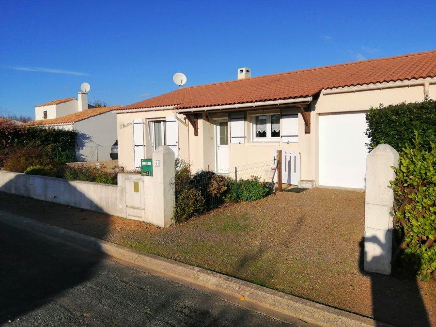 acheter maison 3 pièces 57.1 m² longeville-sur-mer photo 1