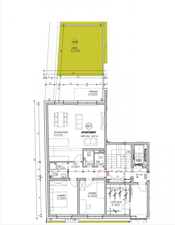 acheter appartement 2 chambres 83.47 m² schifflange photo 2