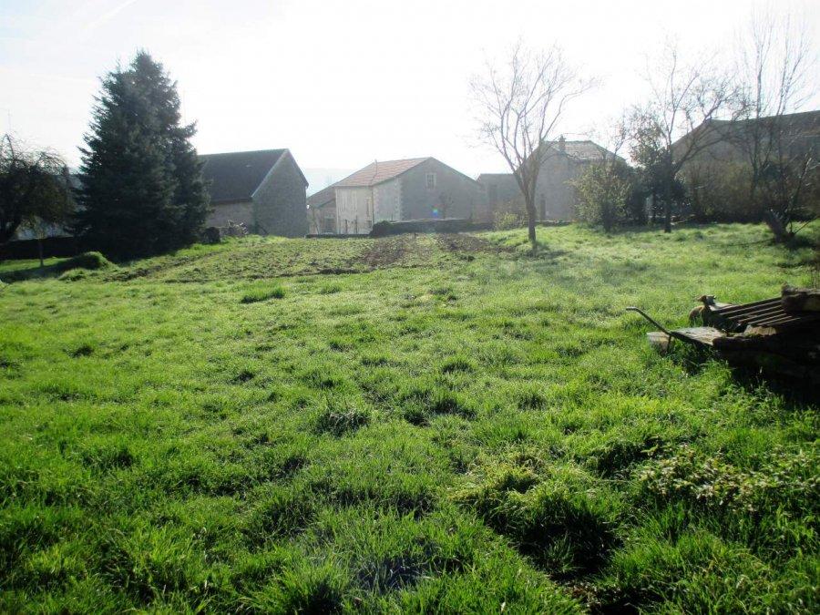 Terrain constructible à vendre à Luzy saint martin