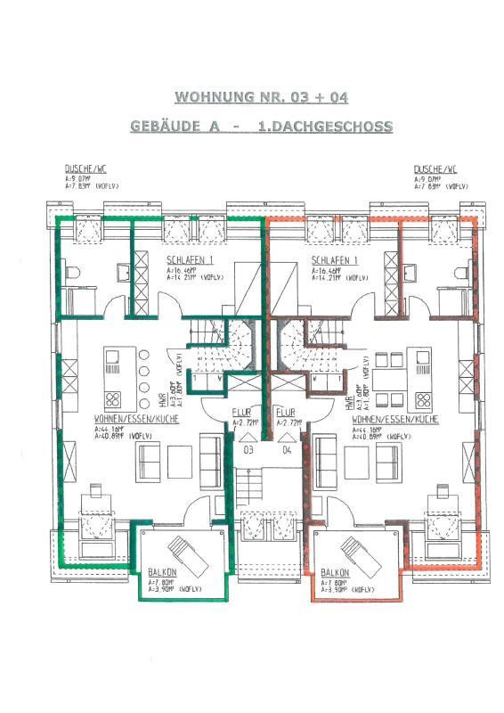 maisonette kaufen 3 zimmer 97.46 m² trier foto 2