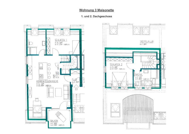 maisonette kaufen 3 zimmer 97.46 m² trier foto 4