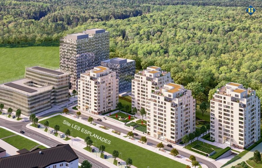 acheter résidence 0 chambre 88.14 à 130.59 m² luxembourg photo 3