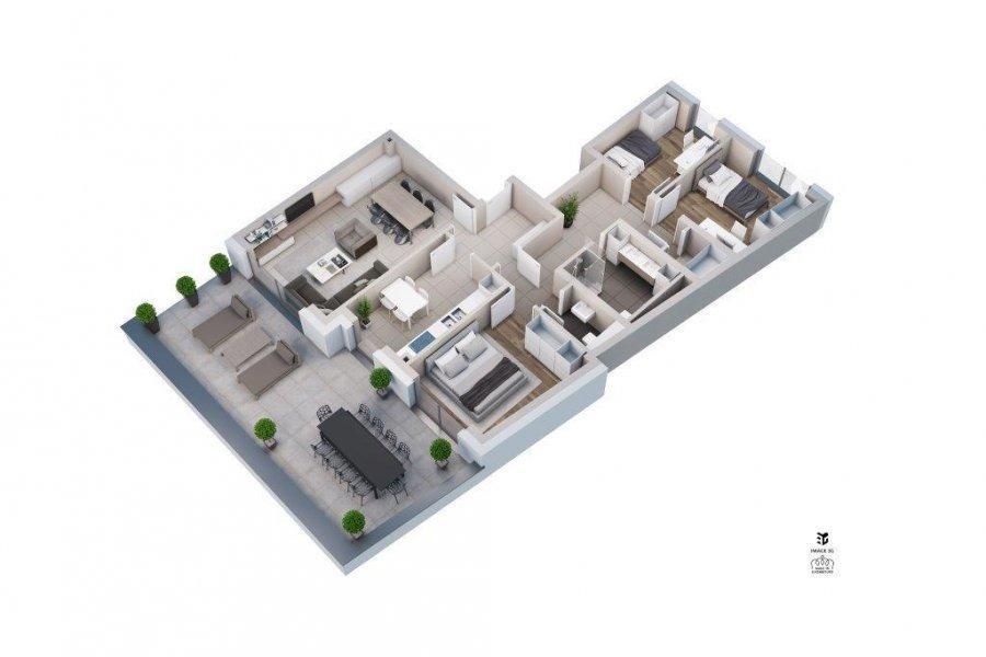 wohnung kaufen 3 schlafzimmer 113.38 m² hesperange foto 7