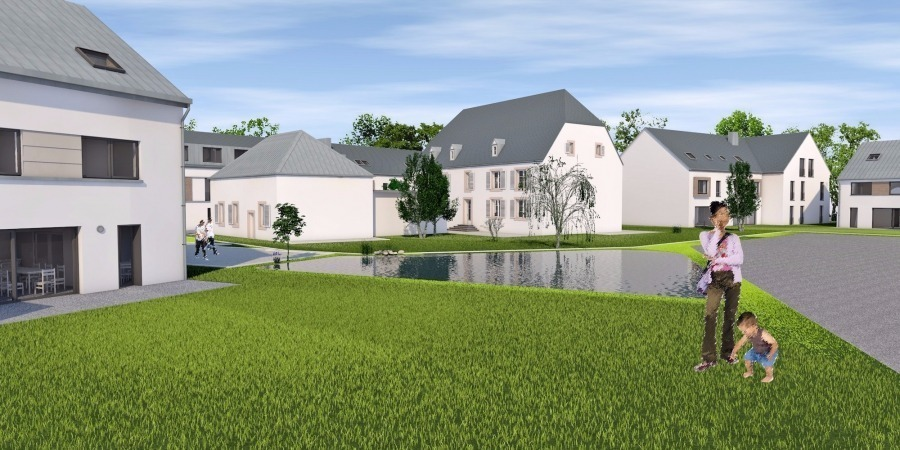 Penthouse à vendre 3 chambres à Hunsdorf