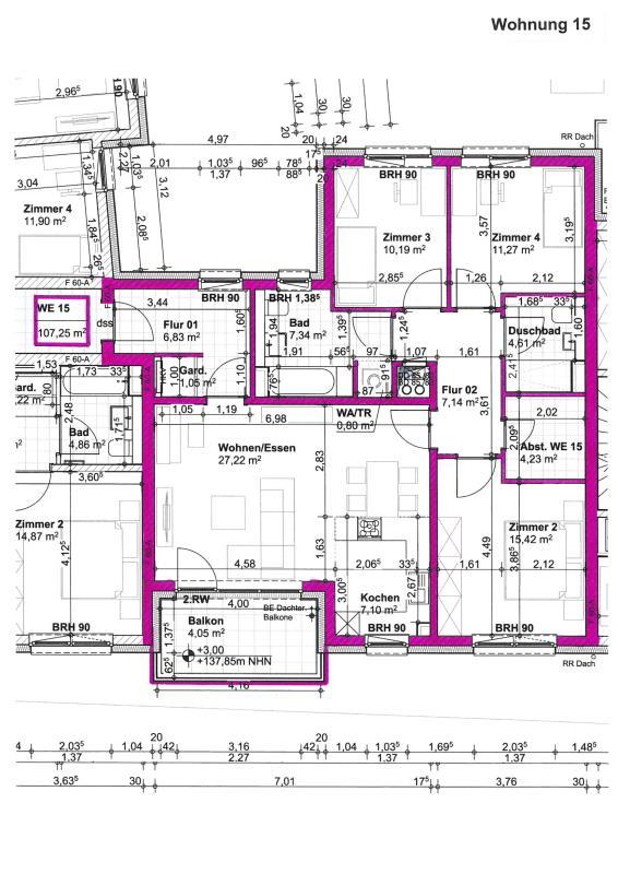 wohnung kaufen 4 zimmer 107.25 m² trier foto 4