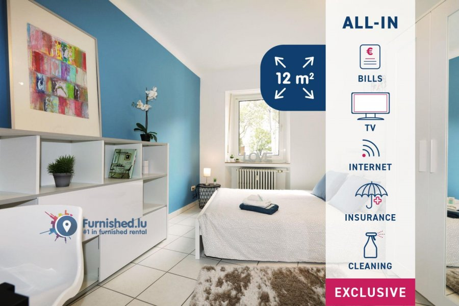 louer chambre 6 chambres 100 m² luxembourg photo 1
