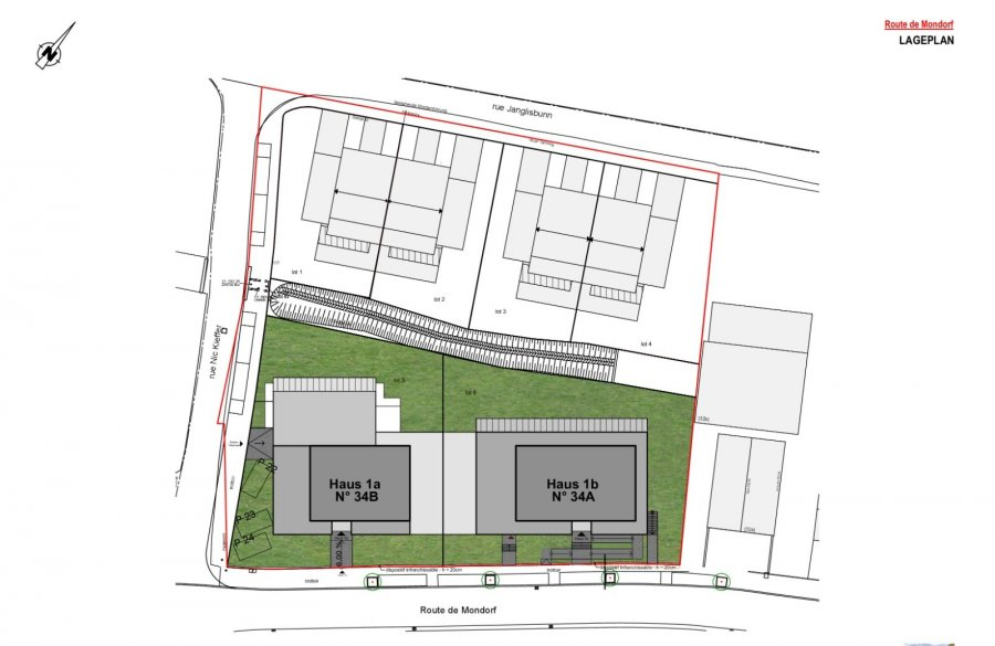 penthouse-wohnung kaufen 3 schlafzimmer 162.57 m² remich foto 4