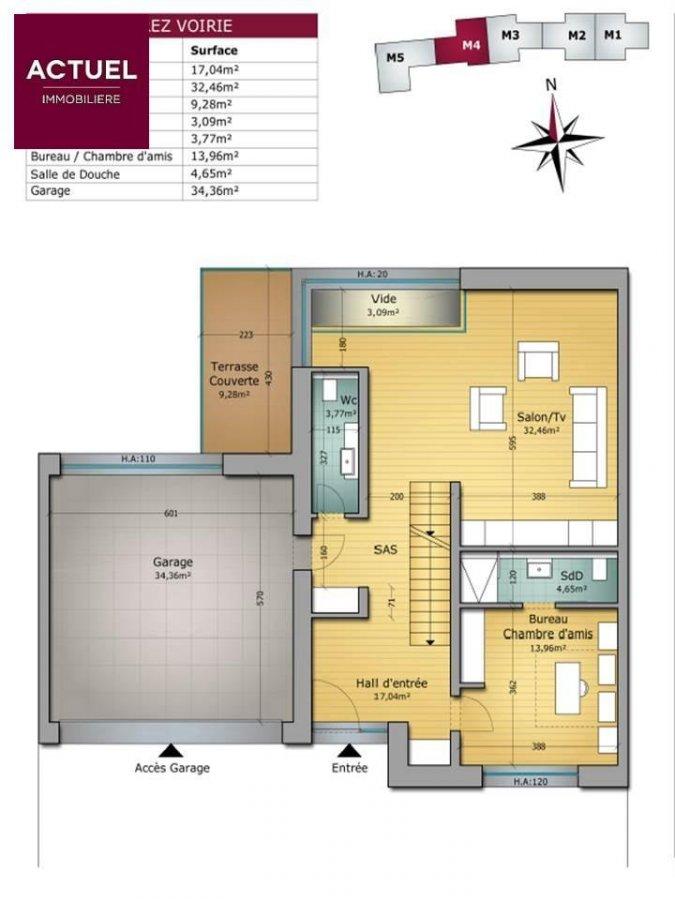 terraced for buy 4 bedrooms 370.4 m² hostert (niederanven) photo 6