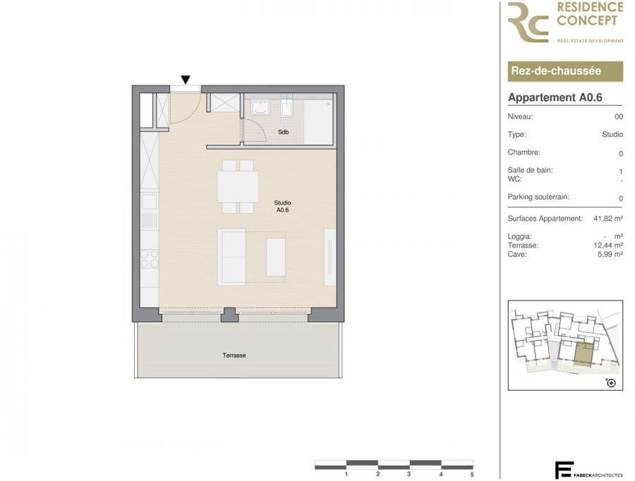 acheter studio 0 chambre 41 m² luxembourg photo 4
