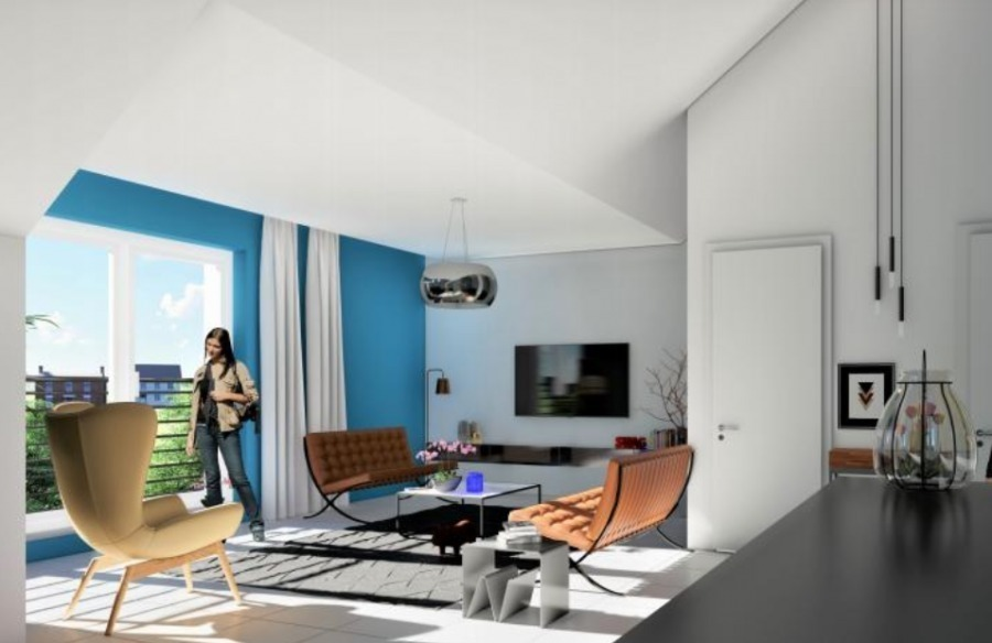 apartment for buy 2 bedrooms 85.89 m² clemency photo 3