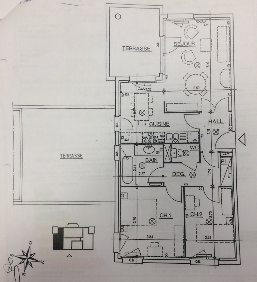louer appartement 3 pièces 66 m² marlenheim photo 2