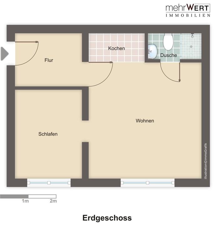 wohnung mieten 2 zimmer 36 m² trier foto 7