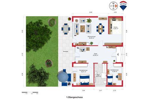 wohnung mieten 3 zimmer 120 m² überherrn foto 3