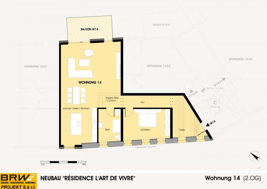 acheter appartement 1 chambre 117.62 m² echternach photo 2