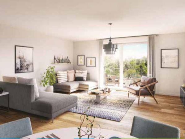 acheter appartement 3 pièces 64 m² wasquehal photo 2