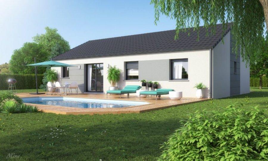 acheter maison 5 pièces 90 m² courcelles-chaussy photo 1