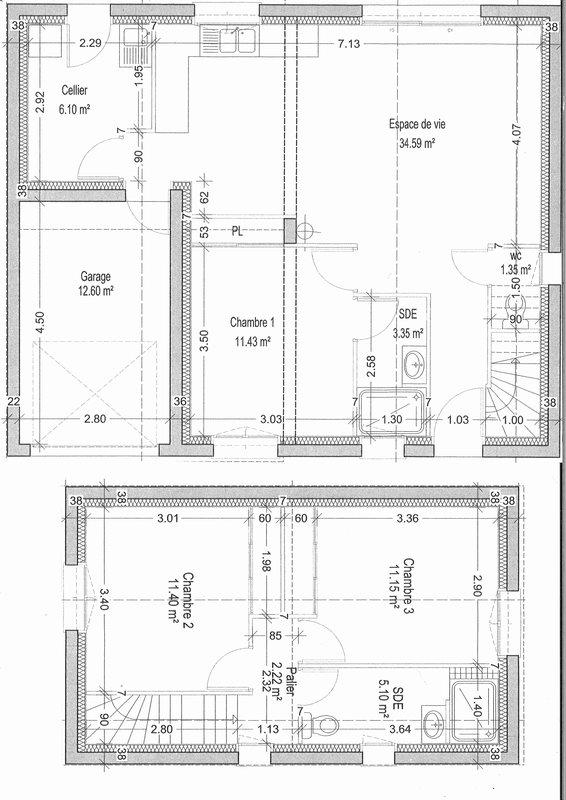 acheter maison 4 pièces 86.69 m² le fenouiller photo 3