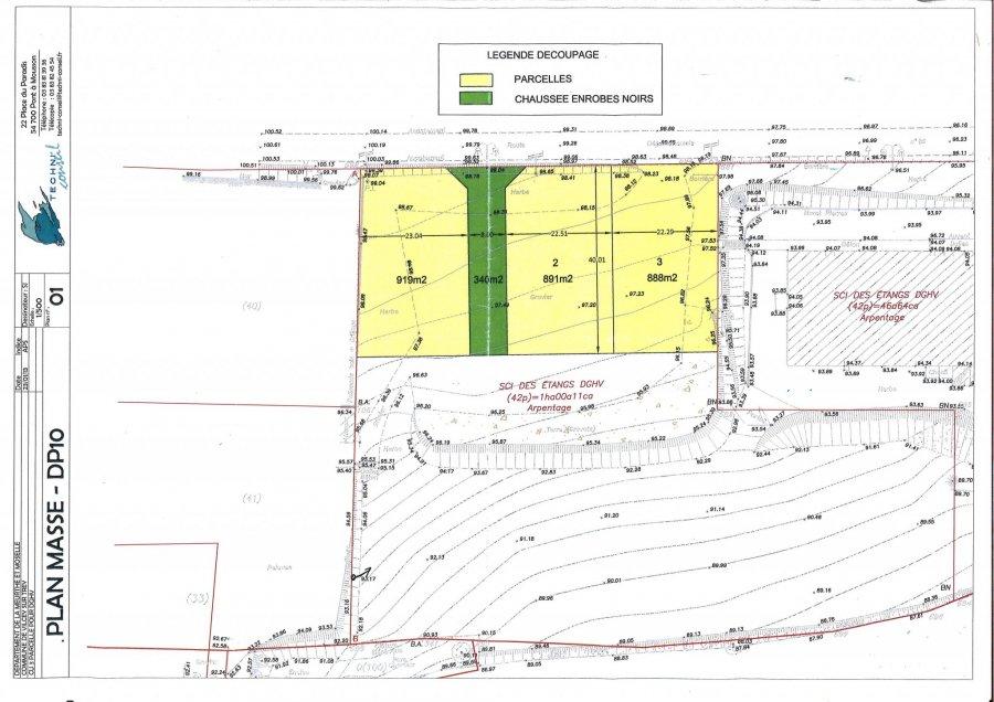 Terrain constructible à vendre à Vilcey sur trey