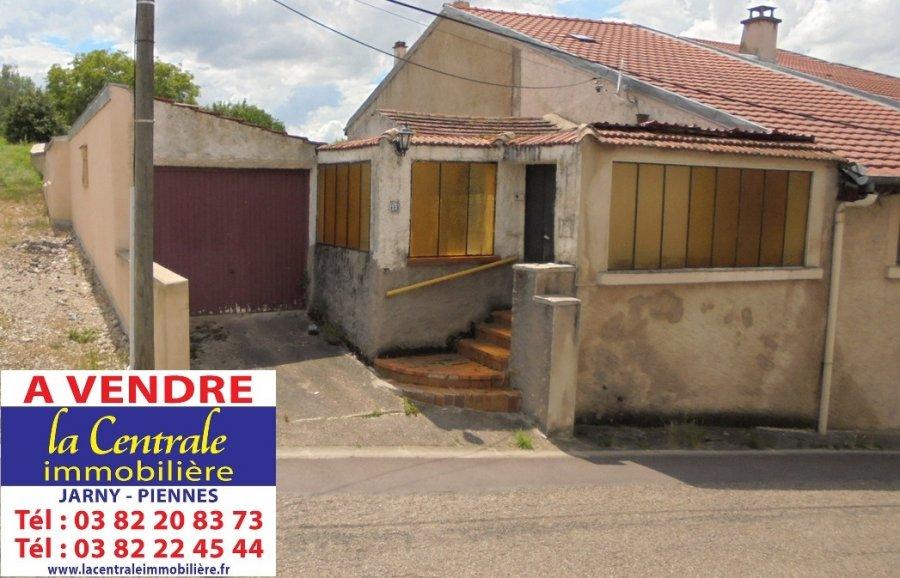 Maison jumelée à vendre F6 à Villecey-sur-Mad