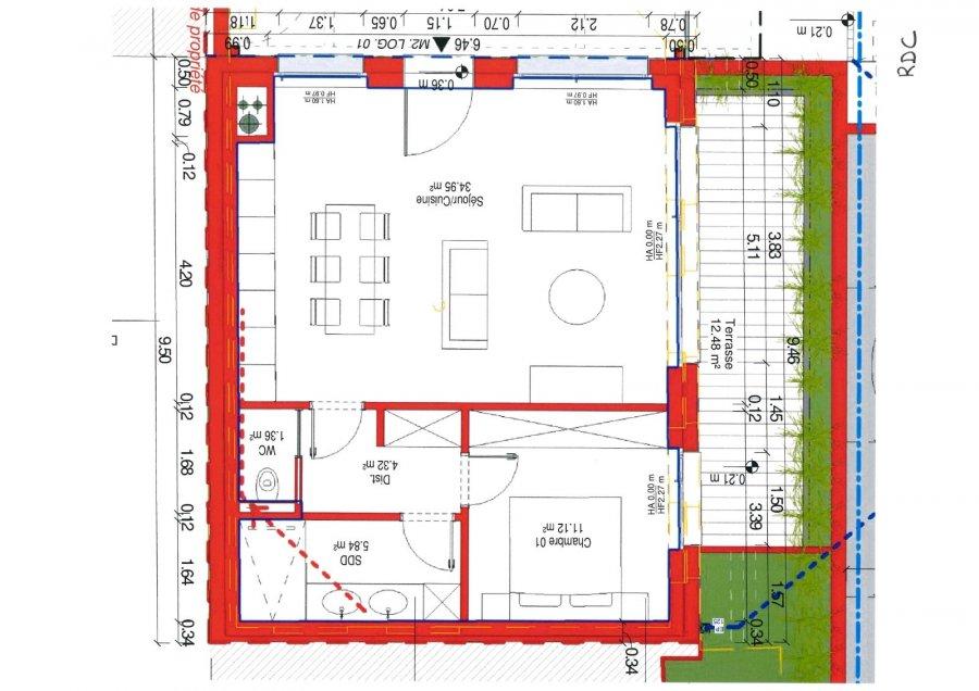 acheter appartement 1 chambre 70 m² aspelt photo 2