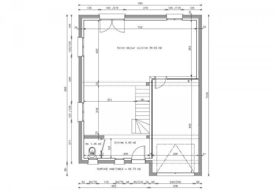 acheter maison individuelle 5 pièces 92 m² lexy photo 2