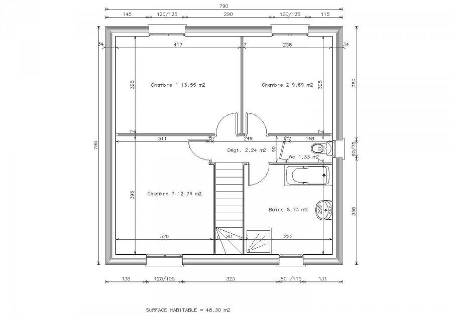 acheter maison individuelle 5 pièces 92 m² lexy photo 3