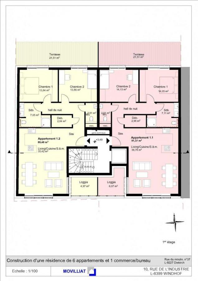 acheter résidence 0 chambre 72.21 à 91.37 m² diekirch photo 7