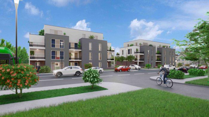 acheter appartement 3 pièces 65 m² yutz photo 1