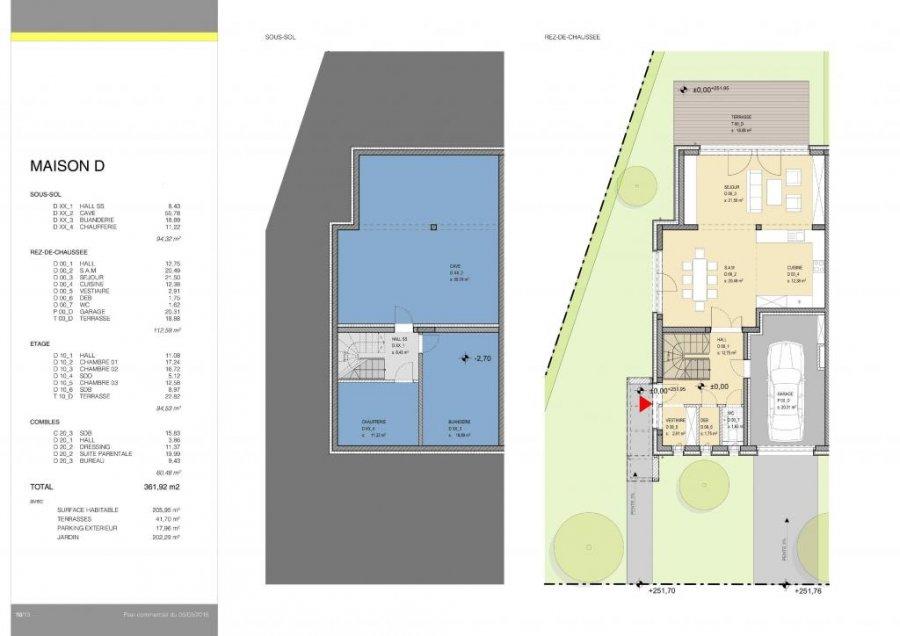 doppelhaushälfte kaufen 4 schlafzimmer 205 m² niederanven foto 5